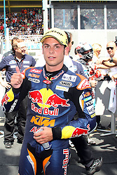 30.06.2012. Circuit Assen, NED, MotoGP, Iveco TT Assen, Moto 3, im Bild Sandro Cortese - Red bull KTM Ajo // during the MotoGP of Iveco TT Assen, Moto 3, at the Circuit Assen, Netherlands on 2012/06/30. EXPA Pictures © 2012, PhotoCredit: EXPA/ Insidefoto/ Semedia..***** ATTENTION - for AUT, SLO, CRO, SRB, SUI and SWE only *****