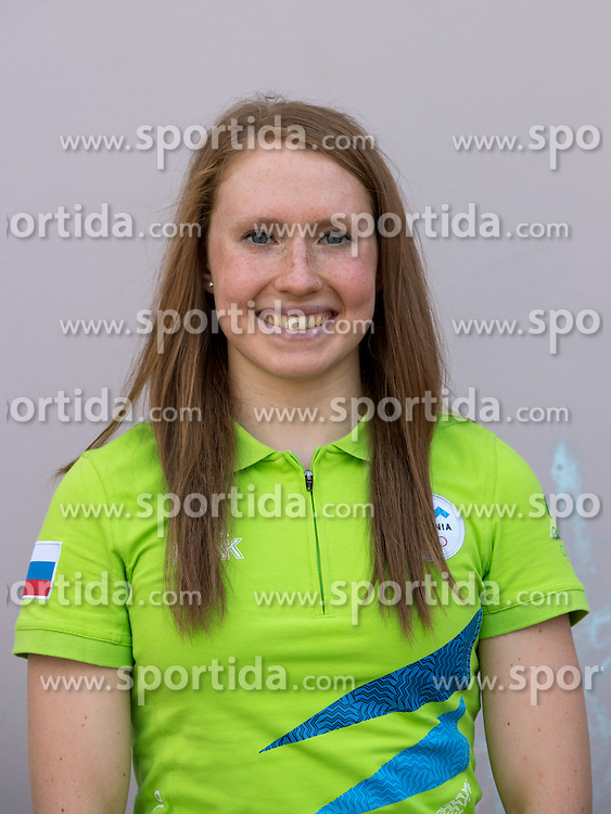 Spela Perse at presentation of Slovenian Olympic Team for Rio 2016, on July 22, 2016 in Koper, Slovenia. Photo by Matic Klansek Velej / Sportida