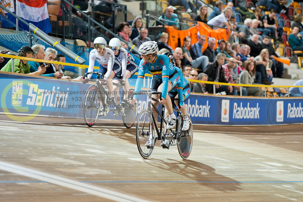 , GBR, BEL, Sprint FInals, 2015 UCI Para-Cycling Track World Championships, Apeldoorn, Netherlands