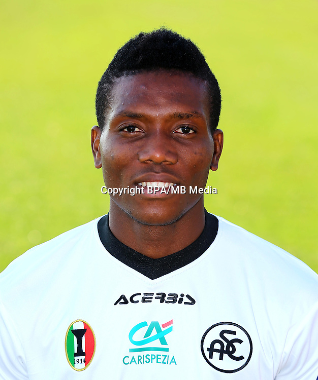 Italian League Serie B -2016-2017 / <br /> ( Spezia Calcio 1906 ) - <br /> David Chidozie Okereke &quot; David Okereke &quot;