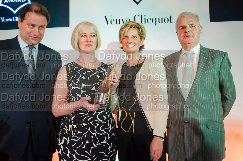 MICHELLE MCDOWELL; SABINA BELLI; LORD MYNERS, The Veuve Clicquot Businesswoman of the Year  Award. Claridge's, London.  March 28 2011. ,-DO NOT ARCHIVE-© Copyright Photograph by Dafydd Jones. 248 Clapham Rd. London SW9 0PZ. Tel 0207 820 0771. www.dafjones.com.
