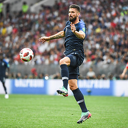 Olivier Giroud of France during the World Cup Final match between France and Croatia at Luzhniki Stadium on July 15, 2018 in Moscow, Russia. (Photo by Anthony Dibon/Icon Sport)