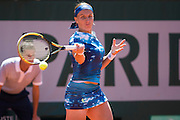 Paris, France. Roland Garros. June 4th 2013.<br /> Russian player Svetlana KUZNETSOVA against Serena WILLIAMS