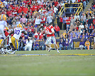 Ole Miss quarterback Bo Wallace (14) vs. LSU at Tiger Stadium in Baton Rouge, La. on Saturday, November 17, 2012.....