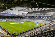 St James Park Stadium during the Barclays Premier League match between Newcastle United and Liverpool at St. James's Park, Newcastle, England on 6 December 2015. Photo by Simon Davies.