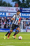 Aleksandar Mitrovic during the Pre-Season Friendly match between York City and Newcastle United at Bootham Crescent, York, England on 29 July 2015. Photo by Simon Davies.