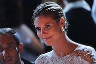 ANTIBES, FRANCE - MAY 24:  Heidi Klum attends amfAR's Cinema Against AIDS auction at Hotel Du Cap on May 24, 2012 in Antibes, France.  (Photo by Tony Barson/FilmMagic)