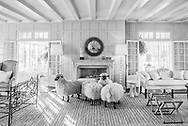 Flock of Sheep, 121 Further Ln, East Hampton, NY, summer home of Jacqueline Kennedy Onassis