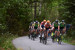 Marianne Vos (NED) in the bunch at Ladies Tour of Norway 2018 Stage 2, a 127.7 km road race from Fredrikstad to Sarpsborg, Norway on August 18, 2018. Photo by Sean Robinson/velofocus.com