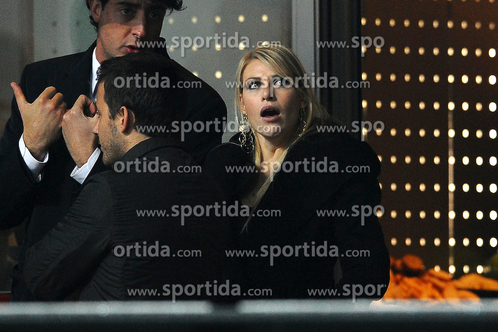 14.11.2010, Stadio Giuseppe Meazza, Mailand, ITA, serie A, Inter Mailand vs AC Mailand, im Bild Barbara BERLUSCONI during the Italian Serie A football game at the San Siro stadium in Milan on 14/11/2010. EXPA Pictures © 2010, PhotoCredit: EXPA/ InsideFoto/ Andrea Staccioli +++++ ATTENTION - FOR USE IN AUSTRIA / AUT AND SLOVENIA / SLO ONLY +++++