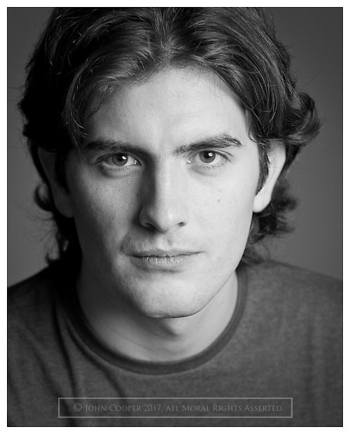 Headshot of actor Jamie Wardrop.