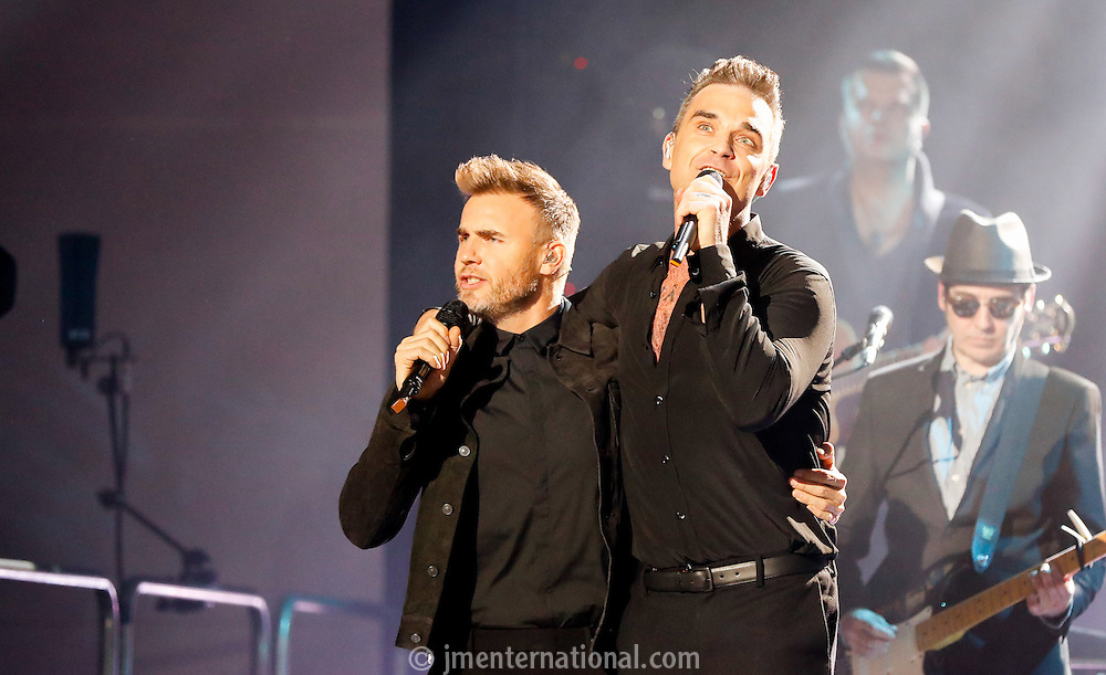 BRITs Icon Award 2016 - Robbie Williams,<br /> Troxy, London,<br /> Monday, 7, November, 2016,<br /> Photo Credit John Marshall - jmenternational.com