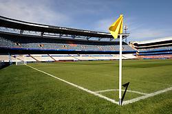 Loftus Versfeld Stadium in Tshwane / Pretoria, South Africa. Venue for the FIFA Confederations Cup South Africa 2009 and the 2010 FIFA World Cup in South Africa. The stadium was named after Robert Owen Loftus Versfeld, the founder of organized sports in Pretoria.