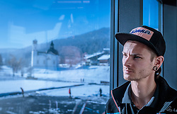 14.11.2016, Kongresszentrum, Seefeld, AUT, Manuel Fettner im Portrait, im Bild der österreichische Skispringer Manuel Fettner während eines exklusiven Fotoshootings // Austrian Skijumping Athlete Manuel Fettner pose during a exclusive Photoshooting at the Congresscenter in Seefeld, Austria on 2016/11/14. EXPA Pictures © 2016, PhotoCredit: EXPA/JFK