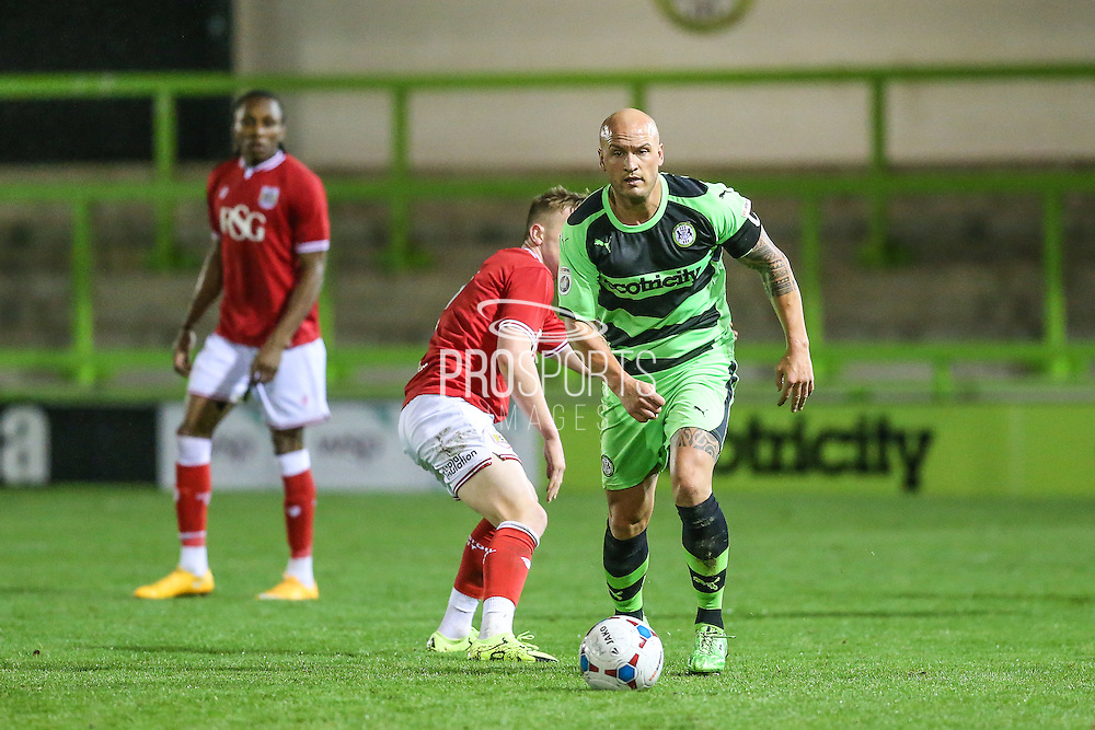 Forest Green Rovers David Pipe during the The County Cup match between Forest Green Rovers and Bristol City at the New Lawn, Forest Green, United Kingdom on 23 November 2015. Photo by Shane Healey.
