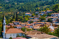 Turquie, province d'Izmir, village traditionel de Sirince // Turkey, Izmir province, traditional village of Sirince
