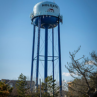 Holgate water tank tower in the Holgate section of Long Beach Island, New Jersey