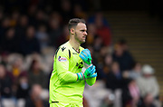 3rd November 2018, Fir Park, Motherwell, Scotland; Ladbrokes Premiership football, Motherwell versus Dundee; Trevor Carson of Motherwell