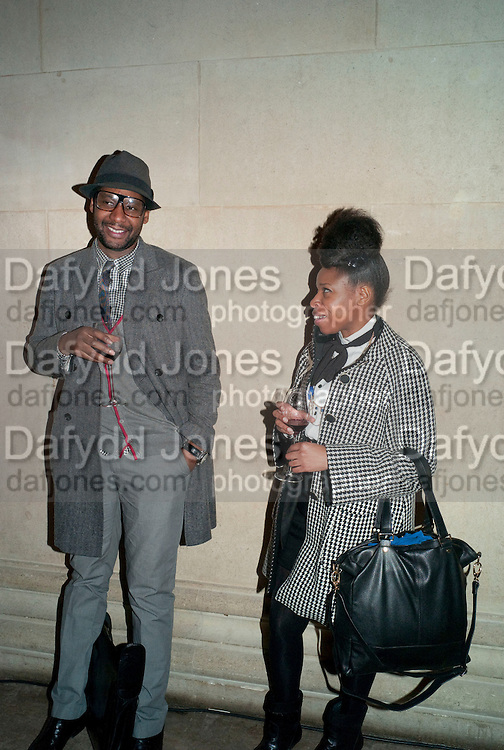 OGHENO; JULIET DA SILVA, Chris Ofili private view for the opening of his exhibition. Tate. London. 25 January 2010