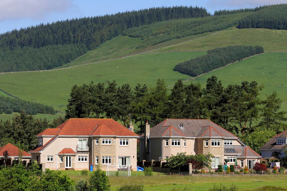 Cardrona Village, a modern housing development in the stunningTweed Valley in the Scottish Borders