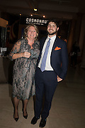 MARIANNE ASTOR; TOM ASTOR, Action Against Cancer 'A Voyage of Discovery' fundraising dinner at the Science Museum on Wednesday 14 October 2015.