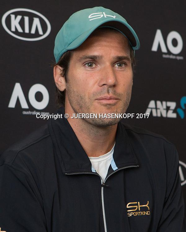 TOMMY HAAS (GER),Pressekonferenz<br /> <br /> Australian Open 2017 -  Melbourne  Park - Melbourne - Victoria - Australia  - 15/01/2017.