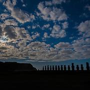 Full Moon Moai