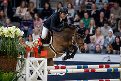 GULLIKSEN Geir (NOR), VDL Groep Quatro <br /> Göteborg - Gothenburg Horse Show 2019 <br /> Gothenburg Trophy presented by VOLVO<br /> Int. jumping competition with jump-off (1.55 m)<br /> Longines FEI Jumping World Cup™ Final and FEI Dressage World Cup™ Final<br /> 06. April 2019<br /> © www.sportfotos-lafrentz.de/Stefan Lafrentz