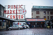 Seattle, Washington Photos - Pike Street Market stock photos, fine art prints, photography
