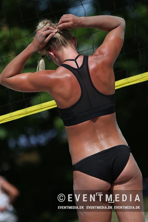 Beachvolley: Odense Grand Slam on the Danish Beachvolley Tour 2015, 4.6.2016 in Odense, Denmark. (EVENTMEDIA).