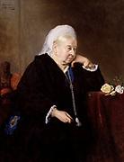 Queen Victoria (Queen of great Britain 1837-1901  by Heinrich von Angeli (died 1925).