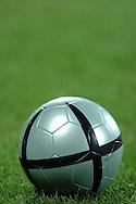 n/z.: Pilka podczas meczu , Legia Warszawa (biale) - Groclin Grodzisk Wielkopolski (zielone) 0:1 , I liga polska , 9 kolejka sezon 2004/2005 , pilka nozna , Polska , Warszawa , 16-10-2004 , fot.: Adam Nurkiewicz / mediasport.pl..Ball during Polish league first division soccer match in Warsaw. October 16, 2004 ; Legia Warszawa (white) - Groclin Grodzisk Wielkopolski (green) 0:1 ; first division , 9 round season 2004/2005 , football , Poland , Warsaw ( Photo by Adam Nurkiewicz / mediasport.pl )