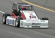 05 MAY 2007: Billy Wease (12) of Western Speed Racing drives around turn one in the Silver Crown race at the Casey's General Stores USAC Triple Crown at the Iowa Speedway in Newton, Iowa on May 5, 2007.