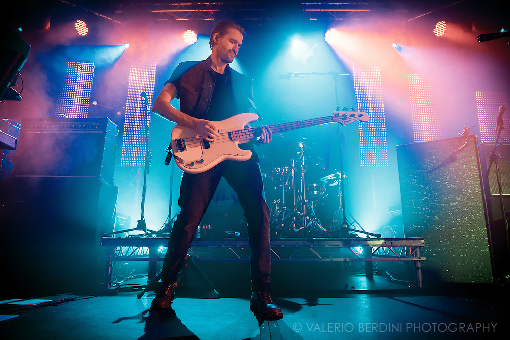 Hayden Thorpe of Wild Beasts playing the Cambridge junction on 10 oct 2016 touring their latest album Boy King