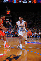 North Carolina guard Dexter Strickland #5 during the 2K Sports Classic at Madison Square Garden. (Mandatory Credit: Delane B. Rouse/Delane Rouse Photography)