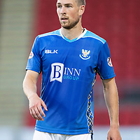 St Johnstone FC Season 2018-19<br />David Wotherspoon<br />Picture by Graeme Hart. <br />Copyright Perthshire Picture Agency<br />Tel: 01738 623350  Mobile: 07990 594431