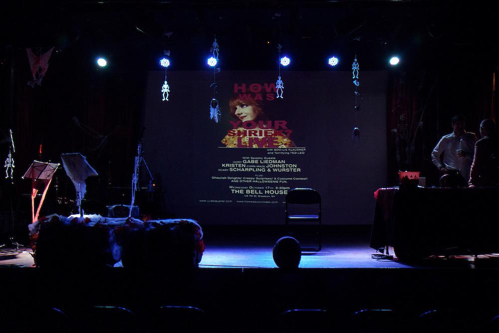 Julie Klausner, Scharpling and Wurster, Kristen Johnson, Gabe Liedman - How Was Your Shriek - October 17, 2012 - The Bell House, Brooklyn, NY