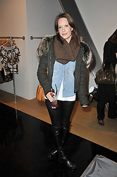 ARABELLA MUSGRAVE at a party to launch pop-up store Oxygen Boutique, 33 Duke of York Square, London SW3 on 8th February 2011.