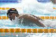 Franziska Hentke (Germany) 4th of 200 m Butterfly during the Swimming European Championships Glasgow 2018, at Tollcross International Swimming Centre, in Glasgow, Great Britain, Day 5, on August 6, 2018 - Photo Laurent Lairys / ProSportsImages / DPPI