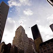 Manhattan skyline from Central Park.