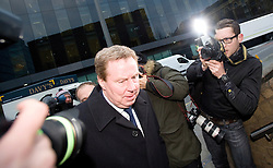 © Licensed to London News Pictures. 23/01/2012. London, UK.  Harry Redknapp, Manager of Tottenham Hotspur FC arriving at Southwark Crown Court on January 23rd, 2012. Redknapp faces two counts of cheating the public revenue. Charges relate to the payment of $295k from Milan Mandaric to Harry Redknapp via a bank account in Monaco, evading tax and national insurance while the pair were at Portsmouth Football Club Photo credit : Ben Cawthra/LNP