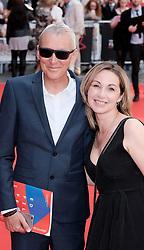 Edinburgh International Film Festival 2019<br /> <br /> Mrs Lowry And Son (World Premiere, closing night gala)<br /> <br /> Pictured: Martyn Hesford and Catrin Meredydd<br /> <br /> Alex Todd | Edinburgh Elite media