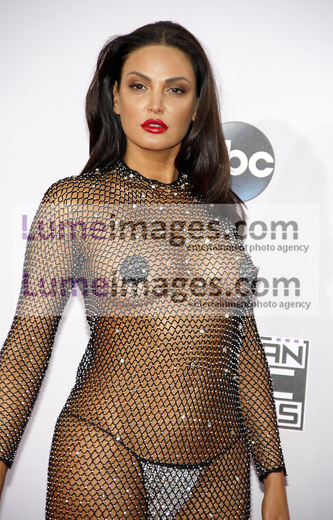 Bleona Qereti at the 2014 American Music Awards held at the Nokia Theatre L.A. Live in Los Angeles on November 23, 2014 in Los Angeles, California. Credit: Lumeimages.com