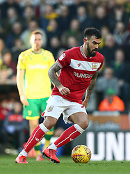 Marlon Pack of Bristol City on the ball - Mandatory by-line: Arron Gent/JMP - 23/02/2019 - FOOTBALL - Carrow Road - Norwich, England - Norwich City v Bristol City - Sky Bet Championship