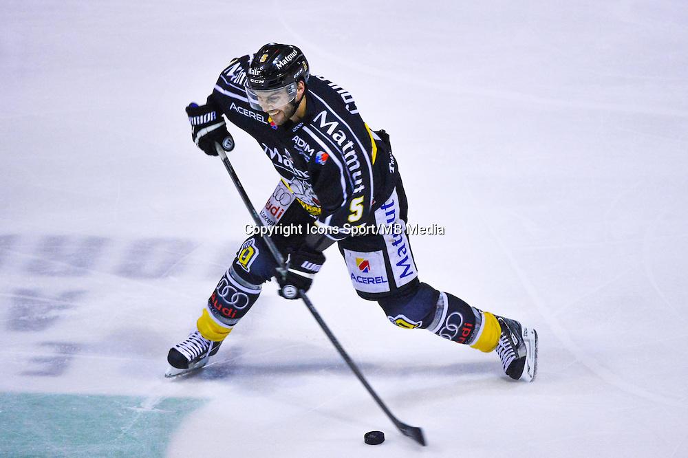 Patrick COULOMBE  - 06.01.2015 - Hockey sur glace - Rouen / Briancon - 1/2Finale Coupe de France-<br /> Photo : Dave Winter / Icon Sport