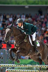 Marcelo Tosi, (BRA), Eleda All Black - Jumping Eventing - Alltech FEI World Equestrian Games™ 2014 - Normandy, France.<br /> © Hippo Foto Team - Leanjo De Koster<br /> 31-08-14