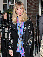 LONDON - January 08: Suki Waterhouse at the London Collections: Men: Pretty Green Event (Photo by Brett D. Cove)