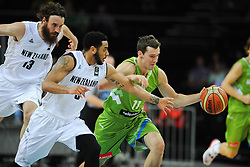 Goran Dragic of Slovenia during friendly match between National Teams of Slovenia and New Zealand before World Championship Spain 2014 on August 16, 2014 in Kaunas, Lithuania. Photo by Vid Ponikvar / Sportida.com