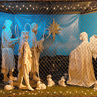 Santa Monica Christmas Nativity Scene