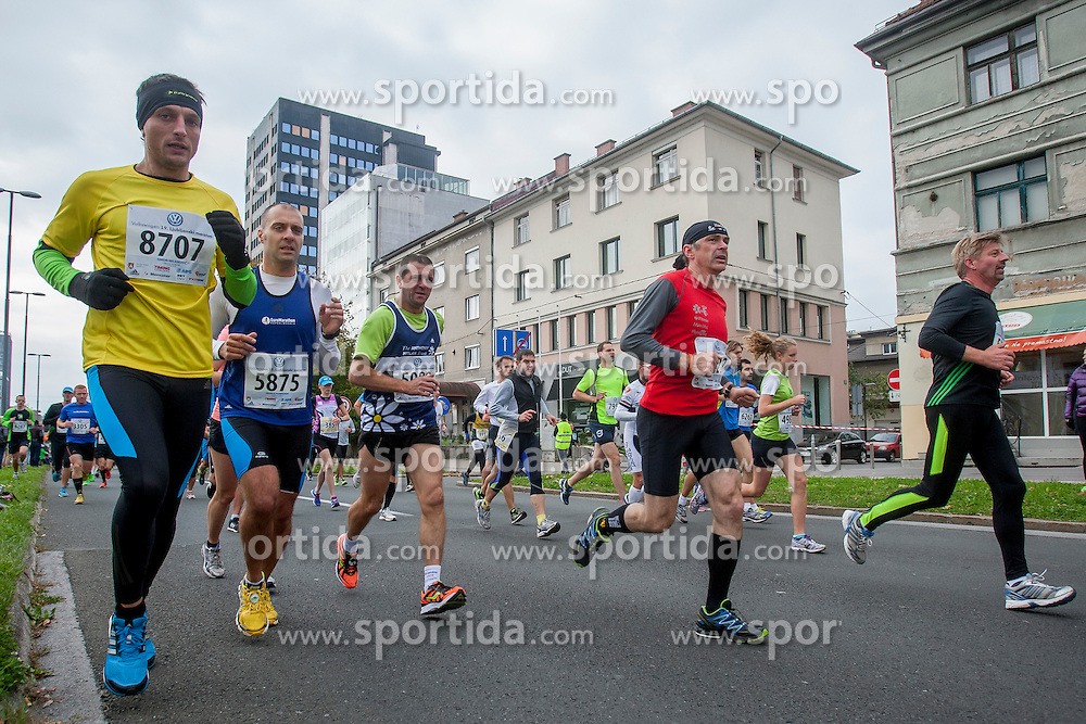 Simon Milovanovic during 19th Ljubljana Marathon 2014 on October 26, 2014 in Ljubljana, Slovenia. Photo by Urban Urbanc / Sportida.com